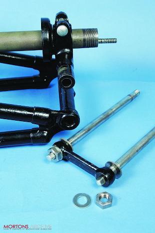 Girder motorcycle forks overhaul