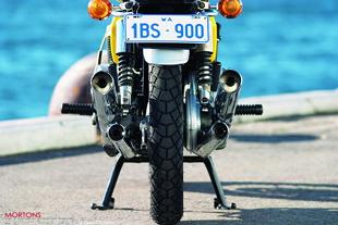 Motobecane classic motorcycle