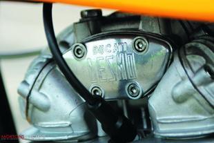 Ducati Desmo engine