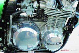 Kawasaki Z650 motorcycle