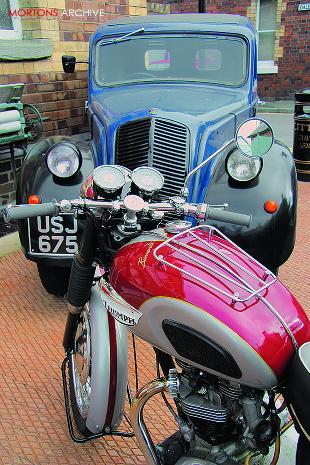 Triumph Bonneville T120 classic British motorcycle