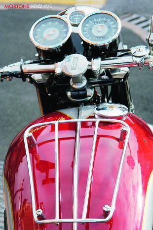 Triumph T120 Bonneville, classic British motorcycle