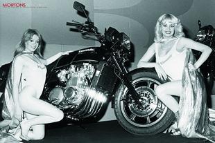 Kawasaki Z1300 performance motorcycle