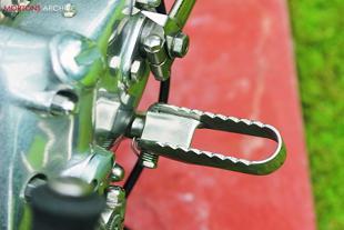 AJS classic bike restoration