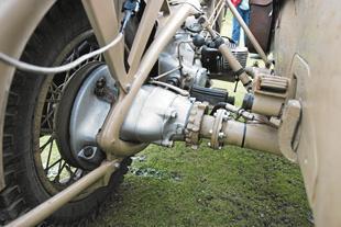 Zundapp military three wheeler