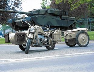Zundapp military threee wheeler