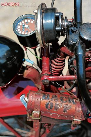 Indian Model 741 classic American motorcycle