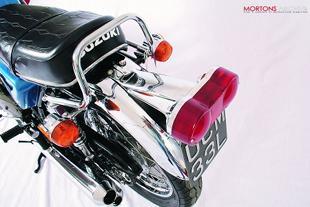 Suzuki GT550 superbike Japanese motorcycle