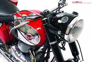 Matchless CSR classic British motorcycle