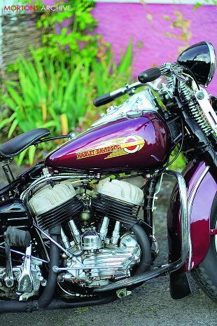Harley-Davidson WLC motorcycle