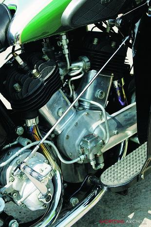 BSA G14 engine and petrol tank