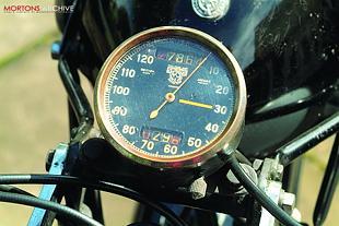 BSA M24 speedometer
