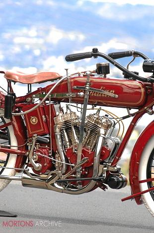 Indian Standard classic American motorcycle