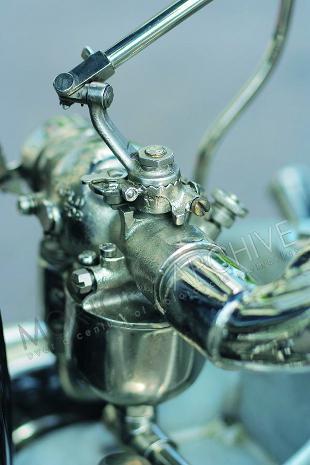 Henderson American motorcycle test