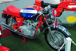 MV Agusta classic Italian motorcycle