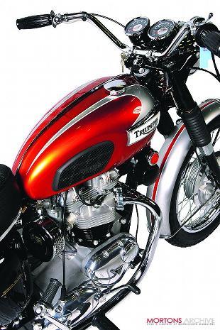 1969 Triumph Bonneville T120R classic British motorcycle
