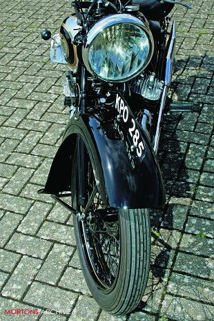 1931 AJS Model S3 classic motorcycle restoration