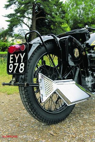 Velocette 250cc MOV classic British motorcycle