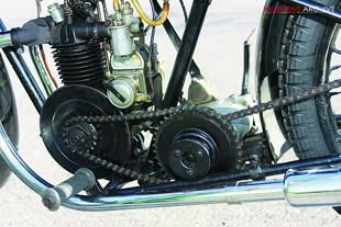 Abingdon King Dick, AKD, classic British pre-war motorcycle