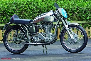 Norton International classic racing motorcycle