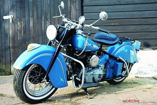 Indian Chief classic American motorcycle