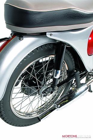 Triumph Tiger Cub classic British motorcycle