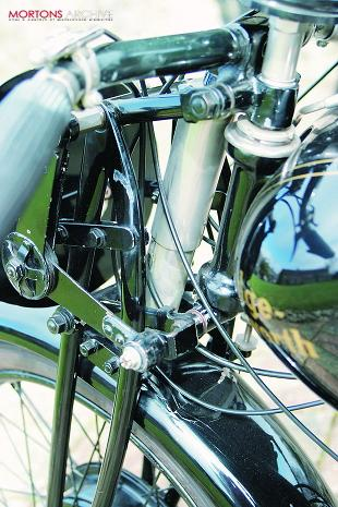 Rudge Walker classic motorcycle handlerbars