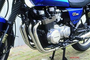 Kawasaki GT550 classic Japanese motorcycle
