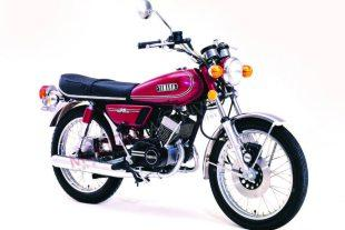 Yamaha RD125 classic motorcycle