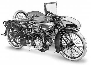 Acme v-twin classic motorcycle