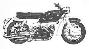 Ariel classic British motorcycle