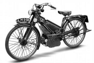 1947 Aberdale classic motorcycle