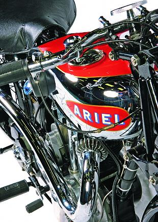 Ariel VH32 Red Hunter classic British motorcycle