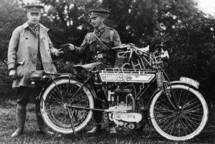 Ariel's veteran classic motorcycles used a variety of engines, including the White and Poppe