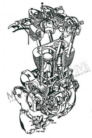 Indian Warrior engine artwork