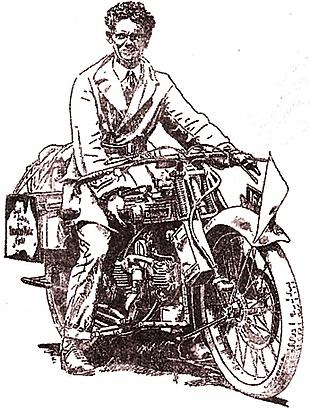 A.W. Grady tours Australia