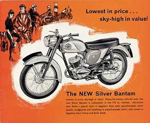 BSA 175cc Bantam advertisement