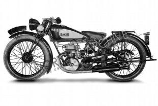 Baker classic motorcycles were only made for three years