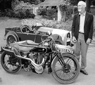 Baughan motorcycle sidecar outfit