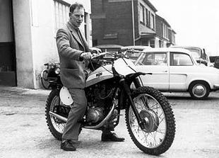 1960 Bianchi 400 Scrambler classic motorcycle