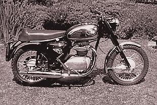 BSA A50 and A65 unit construction parallel twins