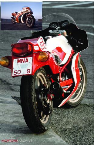 Bimota SB2 sports motorcycle