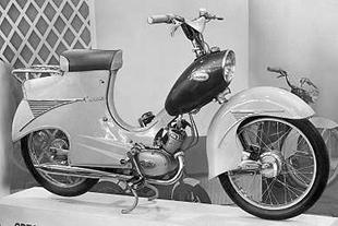 Crescent 2000. A Swedish moped pictured in 1958