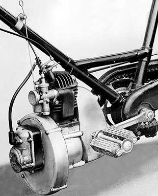 Cyc-Auto power unit for bicycles