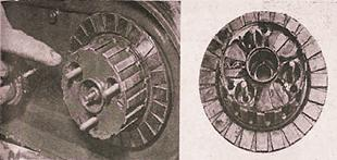 Inspecting motorcycle clutch components