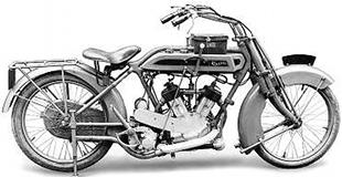 Clyno were makes of high quality v-twin motorcycles
