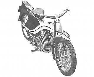 Commander lightweight motorcycle