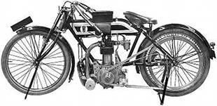 1911Corah TT classic British motorcycle