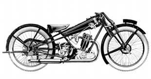 Famous triangulated frame that gave Cotton's legendary handling