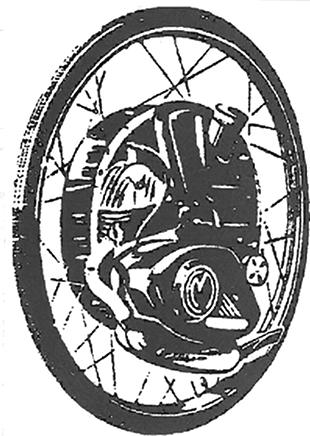Cyclemaster engine unit